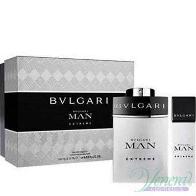 Bvlgari Man Extreme Комплект (EDT 100ml + EDT 15ml) за Мъже За Мъже