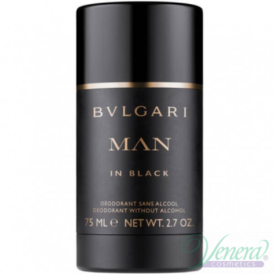 Bvlgari Man In Black Deo Stick 75ml за Мъже