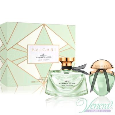Bvlgari Mon Jasmin Noir L'Eau Exquise Комплект (EDT 75ml + EDT 15ml) за Жени Дамски Комплекти