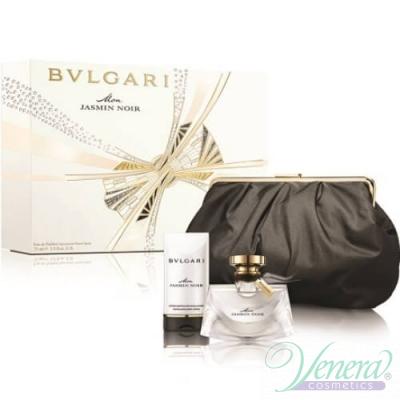 Bvlgari Mon Jasmin Noir Комплект (EDP 75ml + Body Lotion 75ml + Bag) за Жени За Жени