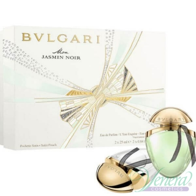 Bvlgari Mon Jasmin Noir Комплект (EDP 25ml + EDT 25ml L'Eau Exquise) за Жени