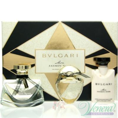 Bvlgari Mon Jasmin Noir Комплект (EDP 50ml + EDP 15ml + BL 40ml) за Жени Дамски Комплекти