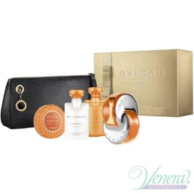 Bvlgari Omnia Indian Garnet Комплект (EDT 65ml + BL 40ml + SG 40ml + Soap 50g + Bag) за Жени