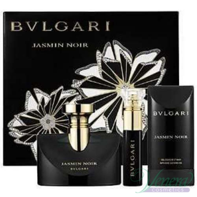 Bvlgari Jasmin Noir Комплект (EDP 50ml + EDP 10ml + BL 75ml) за Жени За Жени