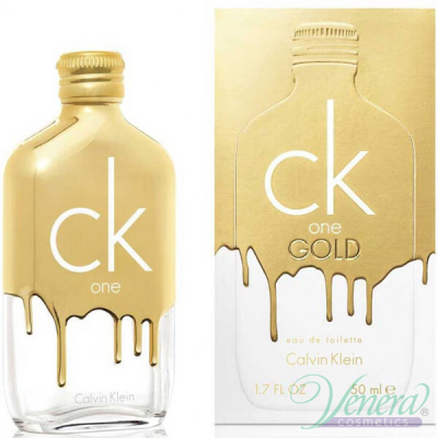 Calvin Klein CK One Gold EDT 50ml за Мъже и Жени Унисекс Парфюми