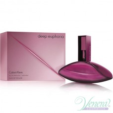 Calvin Klein Deep Euphoria Eau de Toilette EDT 100ml за Жени