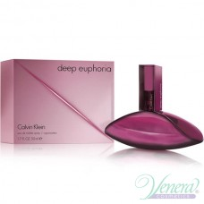 Calvin Klein Deep Euphoria Eau de Toilette EDT 50ml за Жени