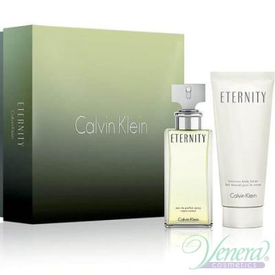 Calvin Klein Eternity Комплект (EDP 50ml + SG 100ml) за Жени