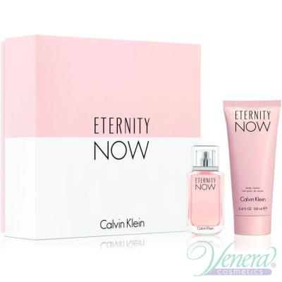 Calvin Klein Eternity Now Комплект (EDP 30ml + BL 100ml) за Жени Дамски Комплекти