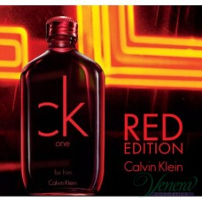 Calvin Klein CK One Red Edition EDT 100ml за Мъже БЕЗ ОПАКОВКА