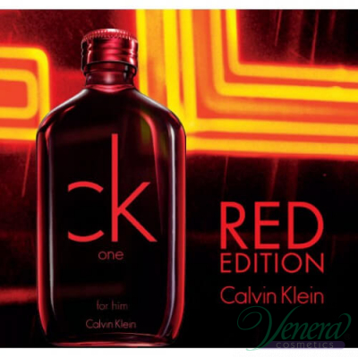 Calvin Klein CK One Red Edition EDT 100ml за Мъже БЕЗ ОПАКОВКА За Мъже