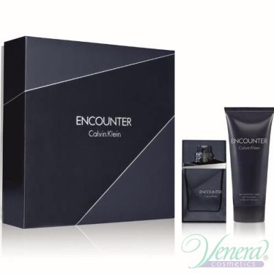Calvin Klein Encounter Set (EDT 50ml + Shower Gel 100ml) за Мъже За Мъже