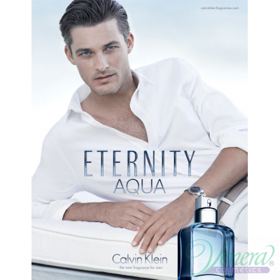 Calvin Klein Eternity Aqua EDT 200ml за Мъже