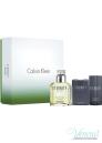 Calvin Klein Eternity Комплеткт (EDT 100ml + AS Balm 100ml + Deo Stick 75ml) за Мъже За Мъже