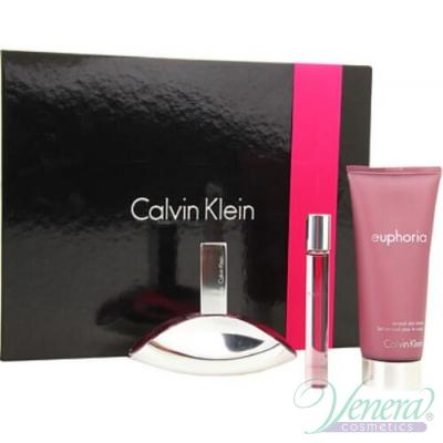 Calvin Klein Euphoria Комплект (EDP 50ml + EDP 10ml + BL 100ml) за Жени За Жени