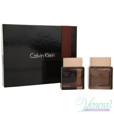Calvin Klein Euphoria Комплект (EDT 100ml + After Shave 100ml) за Мъже За Мъже