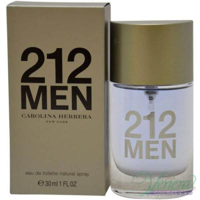 Carolina Herrera 212 EDT 30ml за Мъже Мъжки Парфюми