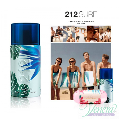 Carolina Herrera 212 Surf for Him EDT 100ml за Мъже БЕЗ ОПАКОВКА Мъжки Парфюми без опаковка