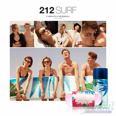 Carolina Herrera 212 Surf for Her EDT 60ml за Жени Дамски Парфюми