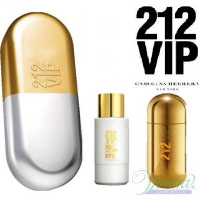 Carolina Herrera 212 VIP Комплект (EDP 50ml + Body Lotion 100ml) за Жени Women's Gift sets