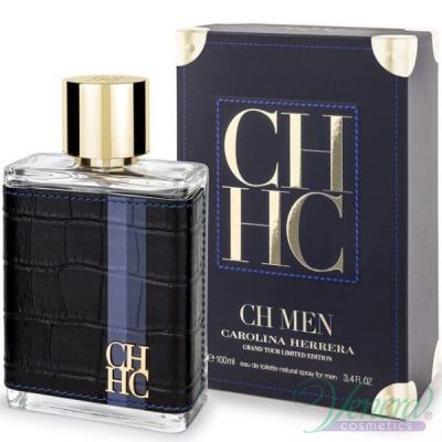Carolina Herrera CH Men Grand Tour EDT 100ml за Мъже Мъжки Парфюми