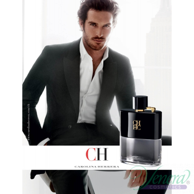 Carolina Herrera CH Men Prive EDT 50ml за Мъже