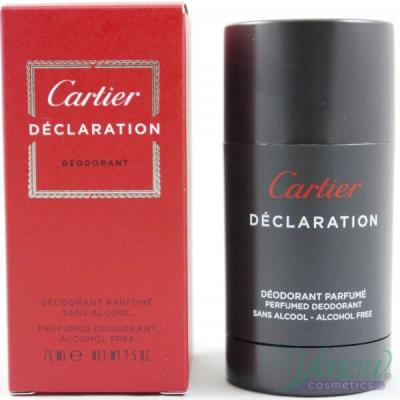Cartier Declaration Deo Stick 75ml за Мъже Мъжки продукти за лице и тяло