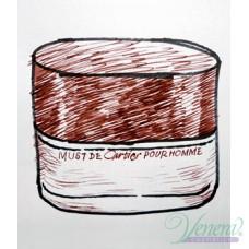 Cartier Must de Cartier Pour Homme EDT 100ml за Мъже БЕЗ ОПАКОВКА