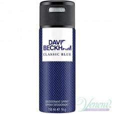 David Beckham Classic Blue Deo Spray 150ml за Мъже