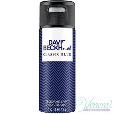 David Beckham Classic Blue Deo Spray 150ml...