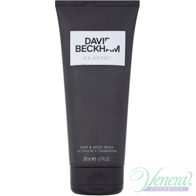 David Beckham Classic Hair & Body Wash 200ml за Мъже