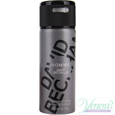 David Beckham Homme Deo Spray 150ml за Мъже Мъжки продукти за лице и тяло
