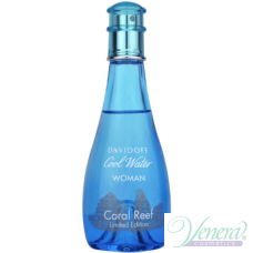 Davidoff Cool Water Coral Reef EDT 100ml за Жени БЕЗ ОПАКОВКА