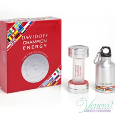 Davidoff Champion Energy Комплект (EDT 50ml + Спортна бутилка) за Мъже За Мъже