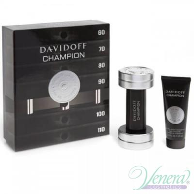 Davidoff Champion Комплект (EDT 50ml +Shower Gel 75 ml) за Мъже За Мъже