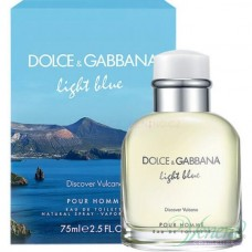 Dolce&Gabbana Light Blue Discover Vulcano EDT 75ml за Мъже