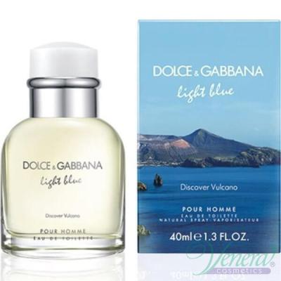 D&G Light Blue Discover Vulcano EDT 40ml за Мъже За Мъже