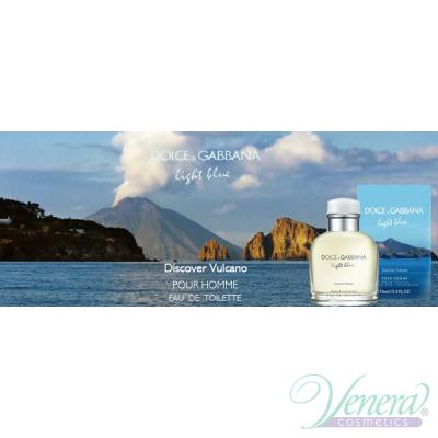 Dolce&Gabbana Light Blue Discover Vulcano EDT 125ml за Мъже
