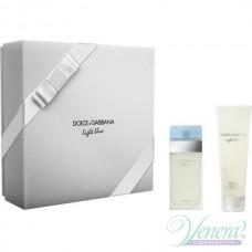 Dolce&Gabbana Light Blue Комплект (EDT 50ml + Body Lotion 100ml) за Жени