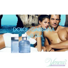 Dolce&Gabbana Light Blue Beauty of Capri EDT 125ml за Мъже БЕЗ ОПАКОВКА