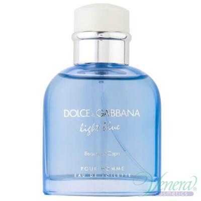 D&G Light Blue Beauty of Capri EDT 125ml за Мъже БЕЗ ОПАКОВКА Мъжки Парфюми без опаковка