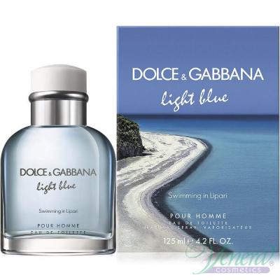 Dolce&Gabbana Light Blue Swimming in Lipari EDT 125ml за Мъже Мъжки Парфюми
