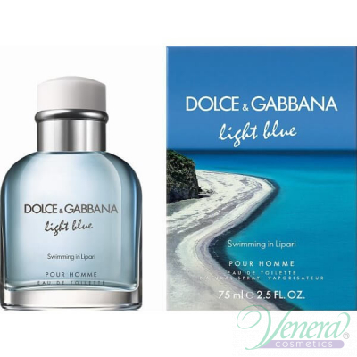 Dolce&Gabbana Light Blue Swimming in Lipari EDT 75ml за Мъже Мъжки Парфюми