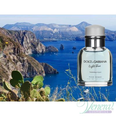Dolce&Gabbana Light Blue Swimming in Lipari EDT 75ml за Мъже Мъжки Парфюми