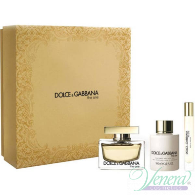 Dolce&Gabbana The One Комплект (EDP 50ml + BL 100ml + EDP 7.4ml) за Жени