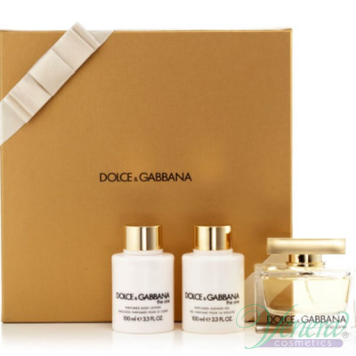 Dolce&Gabbana The One Комплект (EDP 75ml + Body Lotion 100ml + Shower Gel 100ml) за Жени