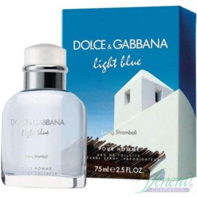 Dolce&Gabbana Light Blue Living Stromboli EDT 40ml за Мъже