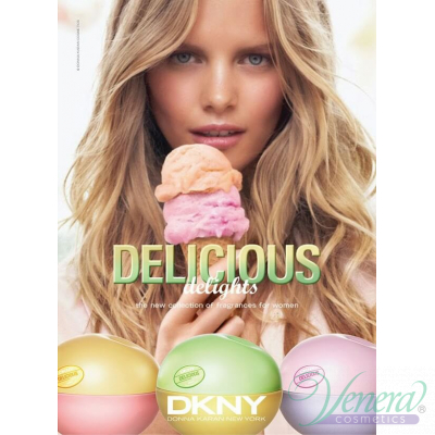 DKNY Be Delicious Delight Cool Swirl EDT 50ml за Жени Дамски Парфюми