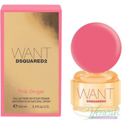 Dsquared2 Want Pink Ginger EDP 100ml για γ...