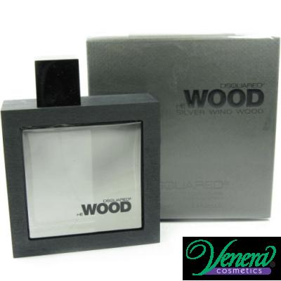 Dsquared2 He Wood Silver Wind EDT 100ml за Мъже Мъжки Парфюми